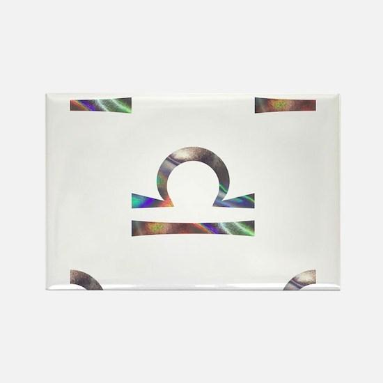 hologram libra Magnets