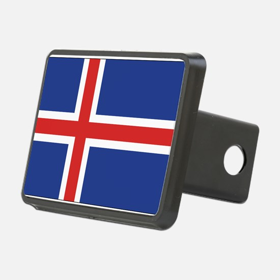 Iceland Flag Hitch Cover