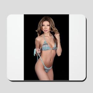 Lea Caprice Model Bikini Mousepad