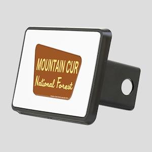 Mountain Cur Rectangular Hitch Coverle)