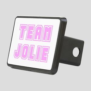 Team Jolie (pink) Rectangular Hitch Cover
