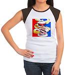 Art Shirt - 'Can' Women's Cap Sleeve T-Shirt