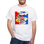 Art Shirt - 'Can' White T-Shirt