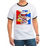Art Shirt - 'Can' Ringer T