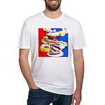 Art Shirt - 'Can' Fitted T-Shirt
