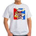 Art Shirt - 'Can' Ash Grey T-Shirt
