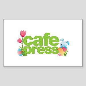 CafePress Easter Sticker (Rectangle)