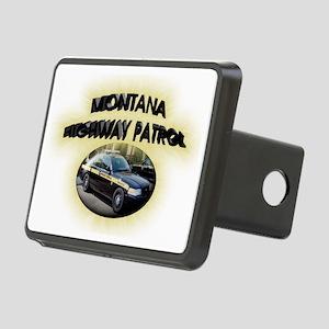 Montana Highway Patrol Rectangular Hitch Coverle)