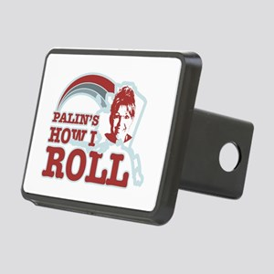 Palin's How I Roll Rectangular Hitch Cover