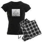 Zaja Music Women's Dark Pajamas