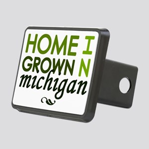 'Home Grown In Michigan' Rectangular Hitch Coverle