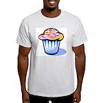 Pop Art - 'Cake' Ash Grey T-Shirt