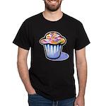 Pop Art - 'Cake' Black T-Shirt