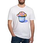 Pop Art - 'Cake' Fitted T-Shirt
