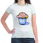 Pop Art - 'Cake' Jr. Ringer T-Shirt