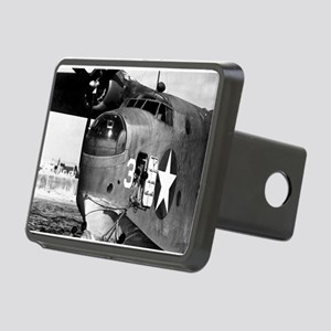 US NAVY FLYING BOAT Rectangular Hitch Cover