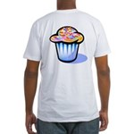 Pop Art - 'Cake' Back/Front Fitted T-Shirt