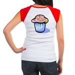 Pop Art - 'Cake' Back/Front Women's Cap Sleeve