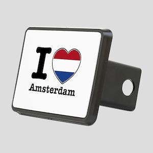 I love Amsterdam Rectangular Hitch Coverle)
