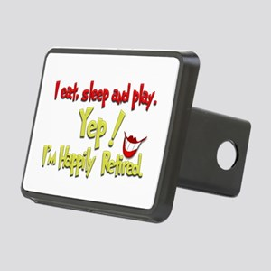 'I'm Smilin Cuz.(1):-) Rectangular Hitch Cover
