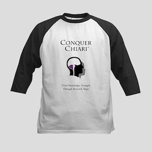 Conquer Chiari Kids Baseball Jersey