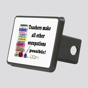 """Teacher Occupations"" Rectangular Hitch Cover"