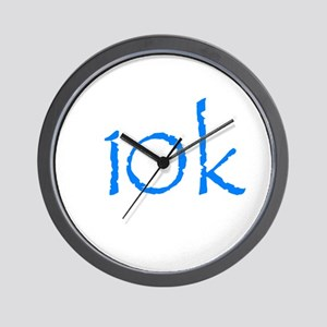 10k Wall Clock