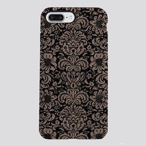 DAMASK2 BLACK MARBLE & BR iPhone 7 Plus Tough Case