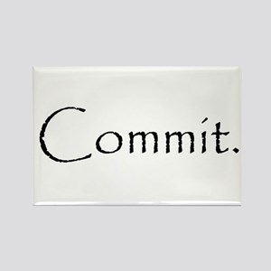 Commit Rectangle Magnet