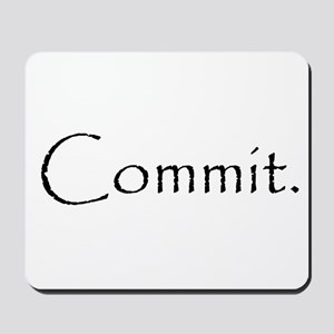 Commit Mousepad