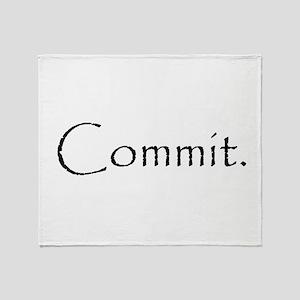 Commit Throw Blanket