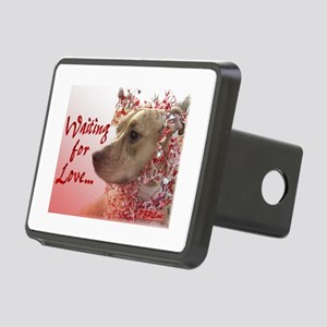Waiting for Love Rectangular Hitch Cover