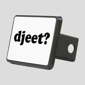 Djeet? Rectangular Hitch Cover