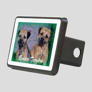 Champion Border terrier Duo Rectangular Hitch Cove