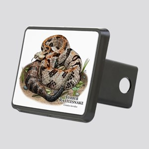 Timber or Canebrake Rattlesnake Rectangular Hitch