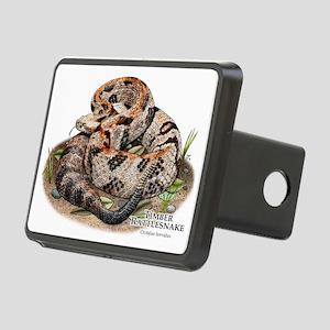 Timber or Canebrake Rattlesnake Rectangular Hitch