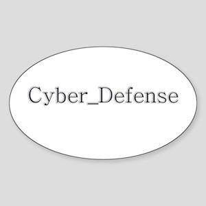 Cyber Defense Sticker