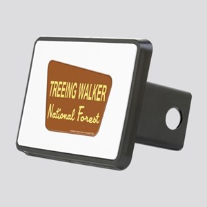 Treeing Walker Rectangular Hitch Coverle)