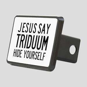 Jesus Say Triduum Church Van Rectangular Hitch Cov
