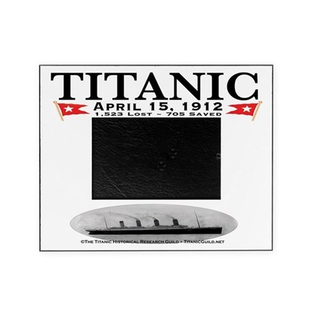 Titanic Ghost Ship Picture Frame (white)