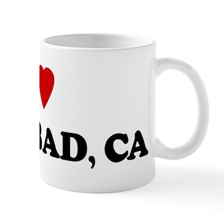 I Love Carlsbad Mug