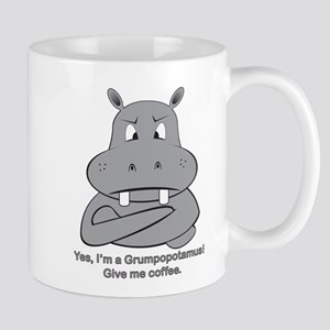 Grumpopotmus without coffee Mug