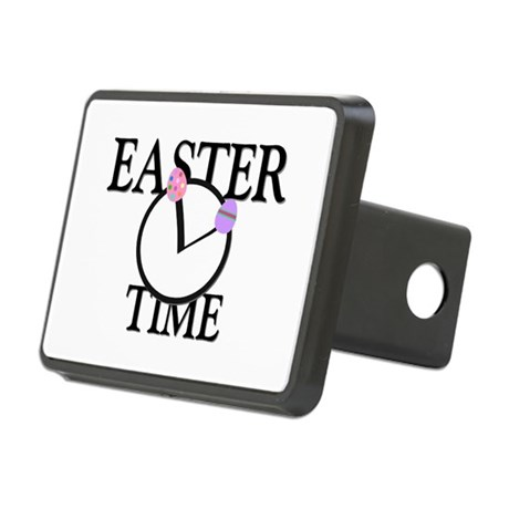 Easter Time Rectangular Hitch Cover