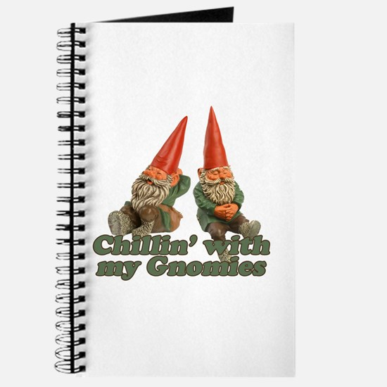 Chillin' with my gnomies Journal