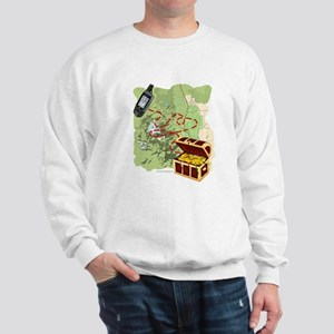 Geocache to Treasure Sweatshirt