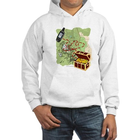 Geocache to Treasure Hooded Sweatshirt