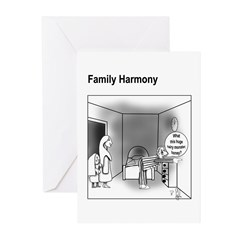 Family Harmony Greeting Cards (Pk of 10)