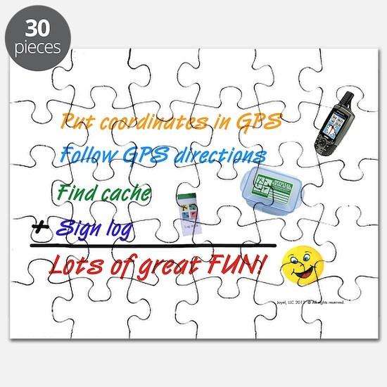 Geocaching Math Puzzle