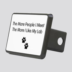 lab luv Rectangular Hitch Coverle)