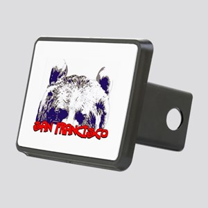 San Francisco Bear Rectangular Hitch Cover